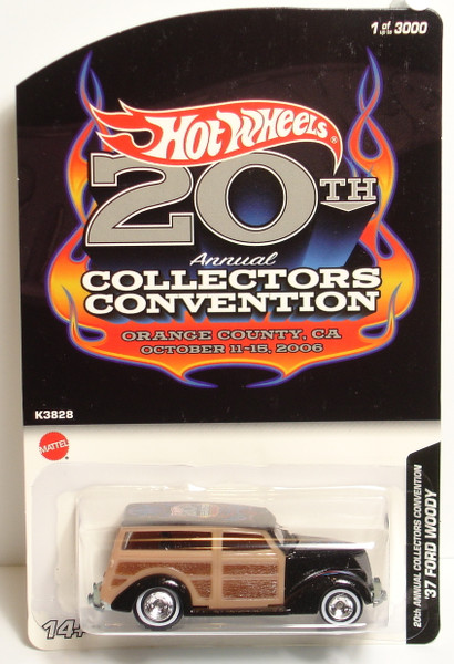 2006 Hot Wheels Ultra Hots `37 FORD WOODY orange 1937 woodie