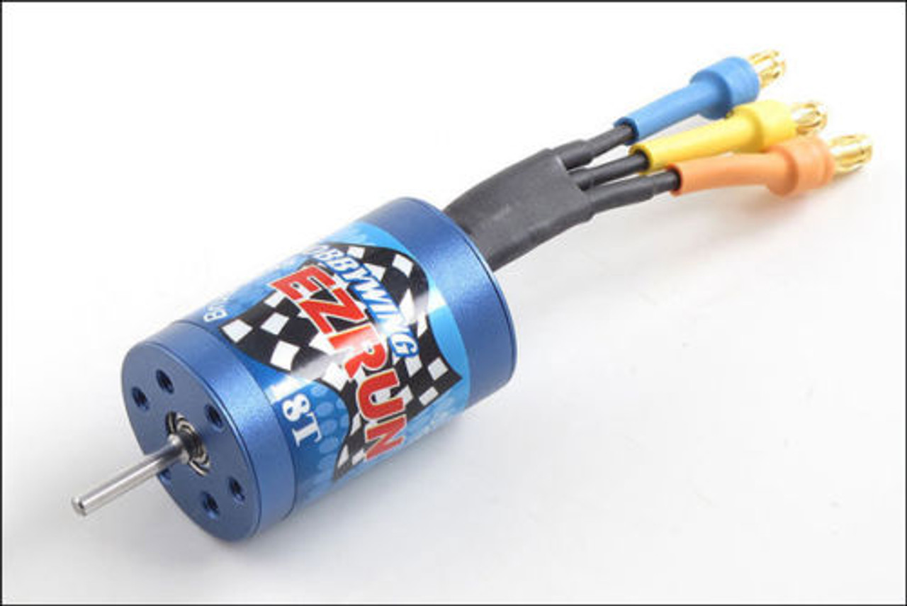 Hobby Wing 18T//2030 5200kV Sensorless Brushless Motor 1//18th and 1//24th Scale