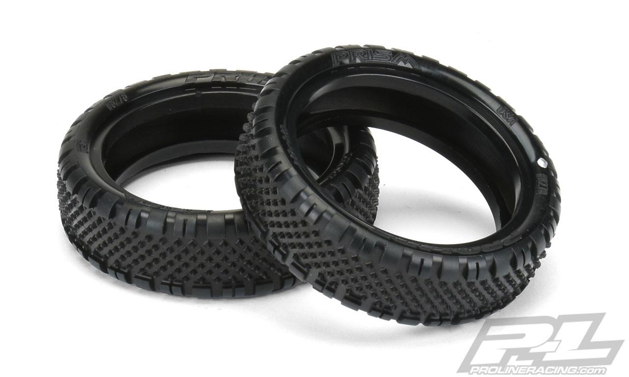 Pro-Line 8284-104 Prism 2.0 2.2 4WD Z4 Carpet Buggy Front Tires