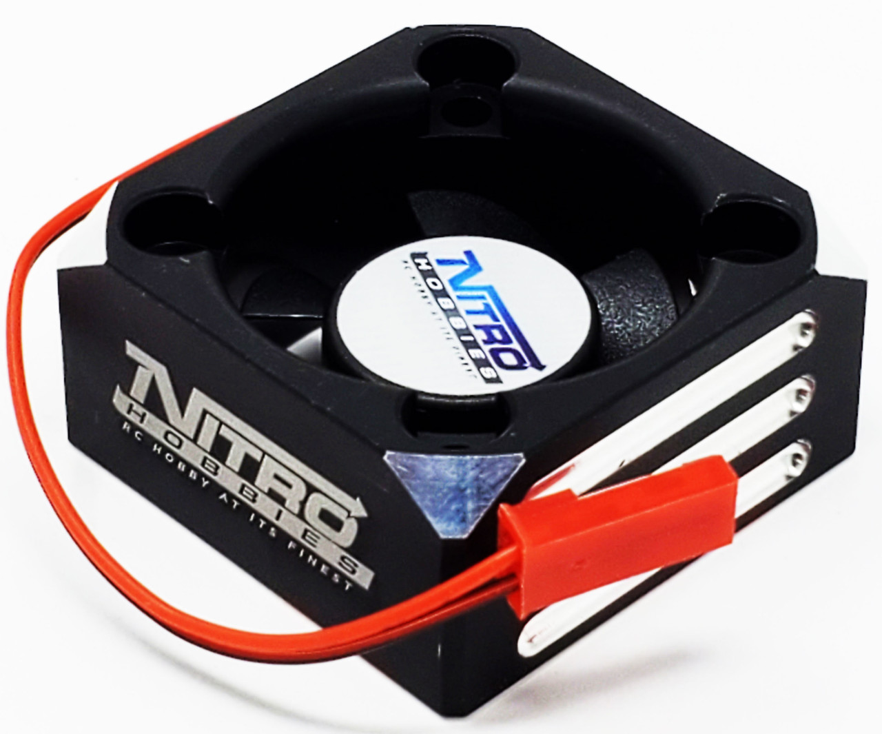 550 Motor Turbo Cooling Fan Red Arrma Senton 4X4 Nitro Hobbies Alum Case 540