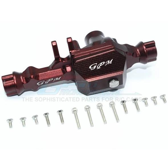 GPM Racing Aluminum Front Gear Box (1) Set Brown : TRX-4 / TRX-6