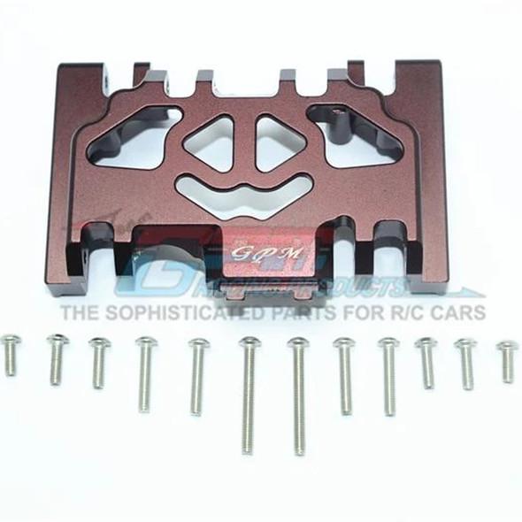 GPM Racing Aluminum Lower Gear Cover (13Pcs) Set Brown : TRX-4 / TRX-6