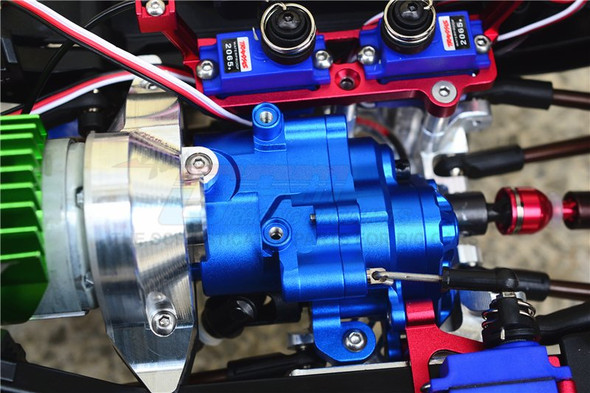 GPM Racing Aluminum Center Gearbox (17Pcs) Set Brown : TRX-4 / TRX-6
