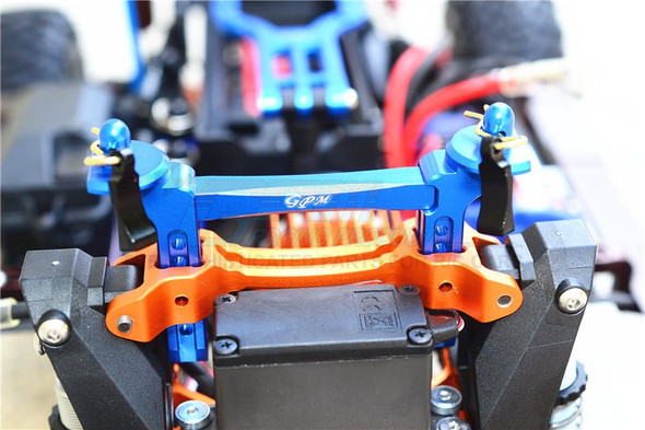 TRX-4 Set Blue GPM Racing Aluminum Servo Horn 24T 4Pcs