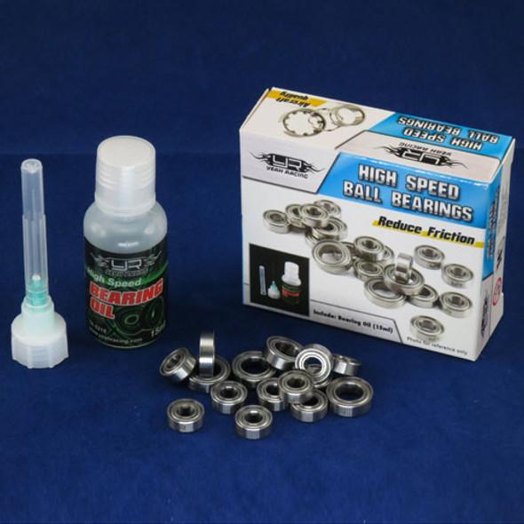 Yeah Racing YB0325BX RC PTFE Bearing Set w/ Bearing Oil : Element Enduro