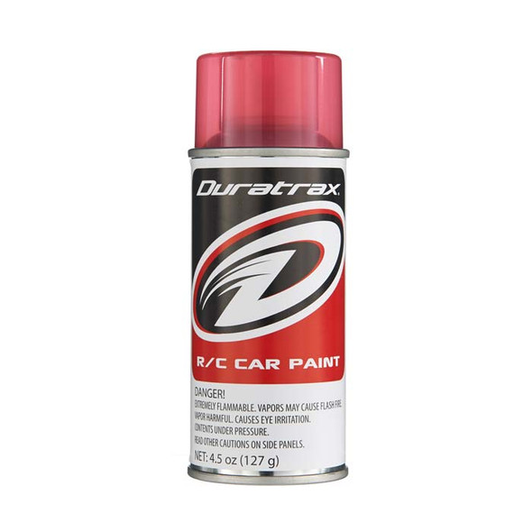 Duratrax PC271 Polycarbonate Paint Spray Candy Red 4.5 oz RC Trucks/Cars Bodies