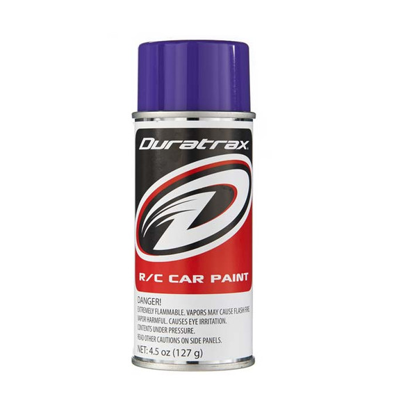 Duratrax PC273 Polycarbonate Paint Spray Candy Purple 4.5 oz RC Trucks/Cars Bodies
