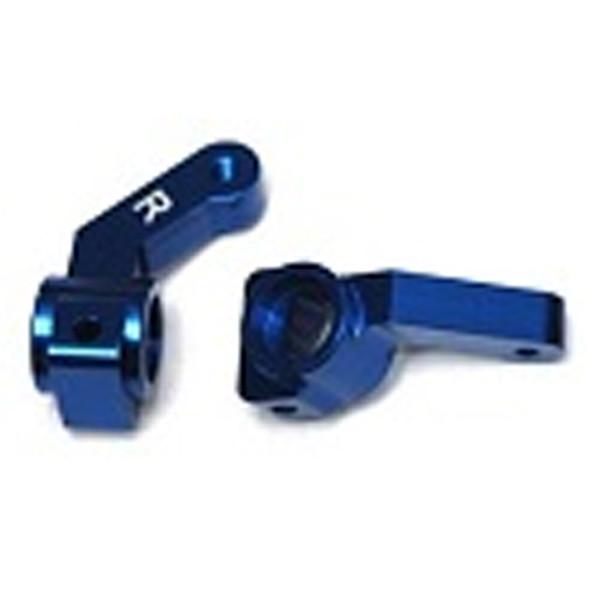 STRC STC9880B Aluminum Steering Knuckles (1 Pair) Blue : SC10 / B4