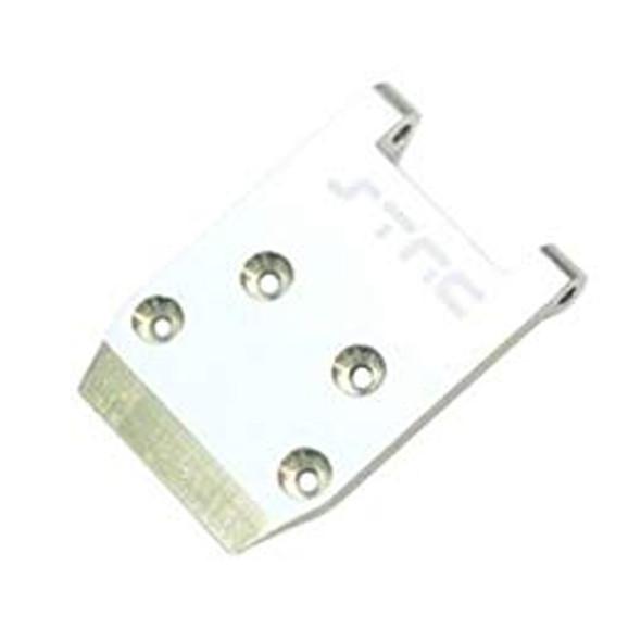 STRC STLB2406S Aluminum HD Front Skid Plate Silver : XXX-SCT