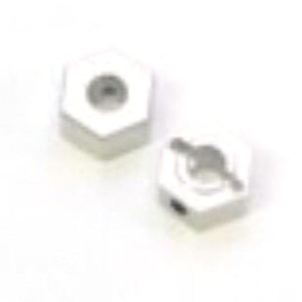 STRC STLB3497S Aluminum HD Rear Hex Adapters (1pair) Silver : XXX-SCT
