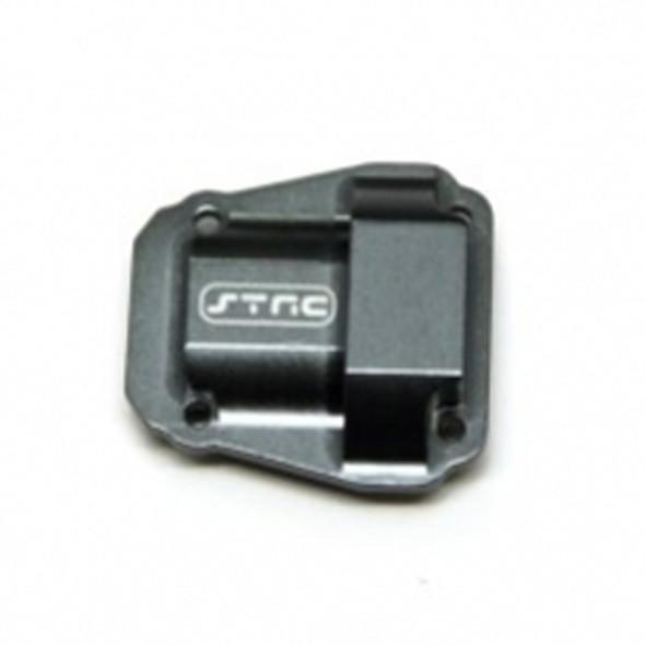 STRC STV232075GM Alum. Diff Cover Gun Metal : Vaterra Ascender / Bronco Truck