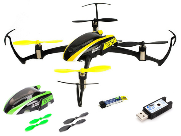 Blade Nano QX BNF Quadcopter with 2x Battery Hyperion SAFE Technology BLH7680