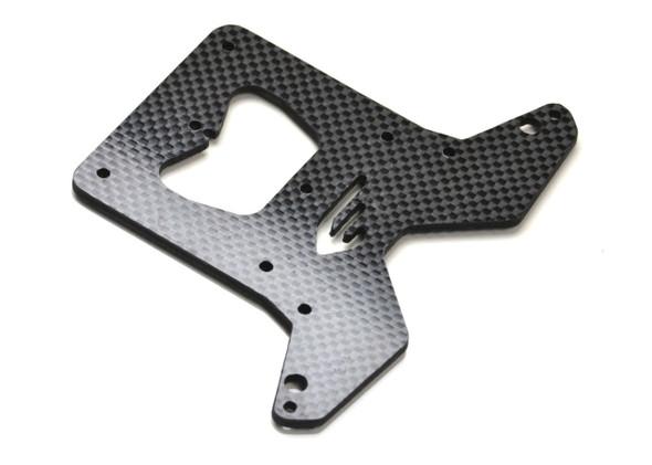 Exotek 1857 Heavy Duty Carbon Fiber Rear Top Plate 2.5mm : Losi LST 3XL