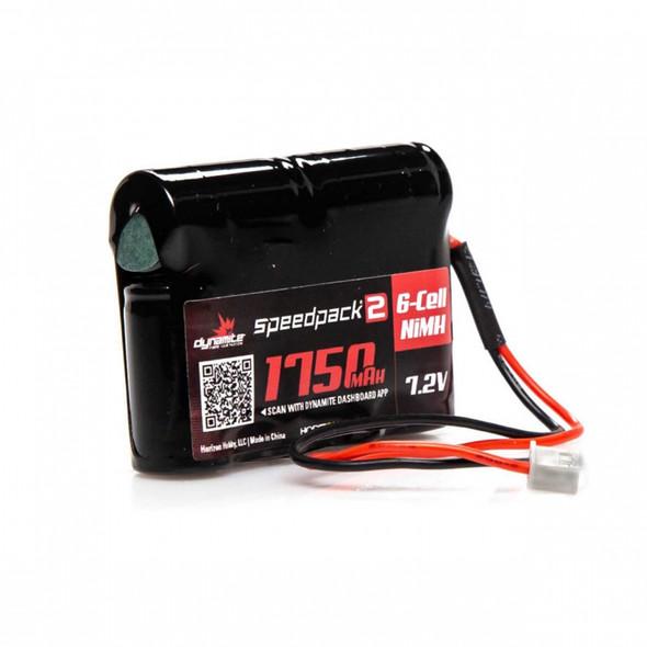 Dynamite DYNB2466 Speedpack 7.2V 1750Ah NiMH Battery w/ Micro Connector