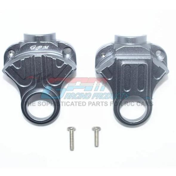 GPM Racing Aluminum Front or Rear Differential Yoke Grey : 4X4 Granite / Big Rock
