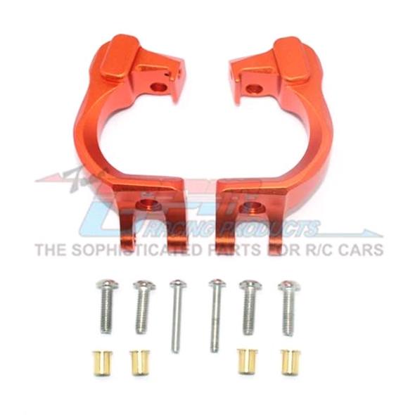 GPM Racing Aluminum Front C Hubs Orange : 4X4 Granite / Big Rock Crew Cab