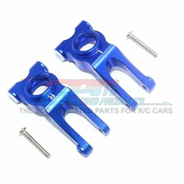 GPM Racing Aluminum Rear Knuckle Arm Blue : 4X4 Granite / Big Rock