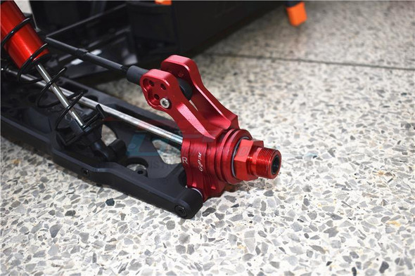GPM Racing Aluminum Rear Knuckle Arm Orange : 1/5 KRATON 8S BLX Monster Truck