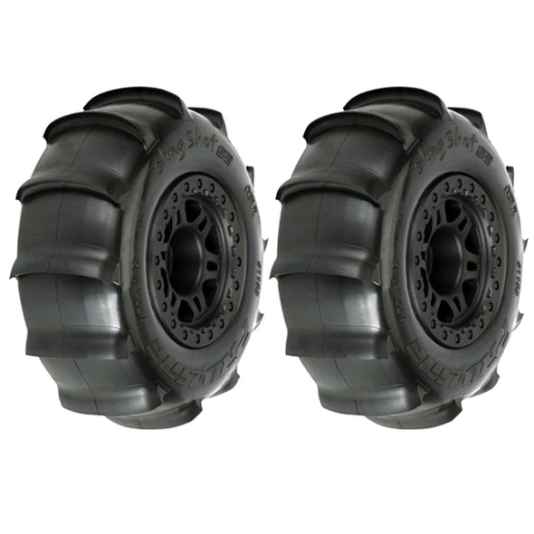 Pro-Line 1158-10 Sling Shot 2.2/3.0'' Sant Tires w/ Black Wheels : Slash 2WD/4WD F/R