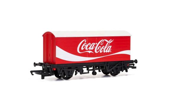 Hornby R6934 LWB Box Van Coca-Cola OO Scale