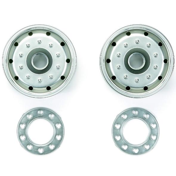Tamiya 56520 RC Metal Plated Wheels 30mm Width / Matte Finish