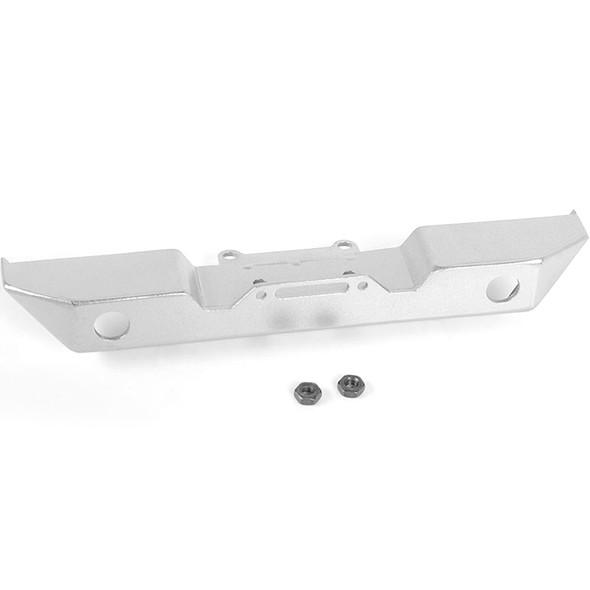 RC4WD VVV-C0587 Eon Metal Front Bumper Silver : 1/18 Gelande II RTR