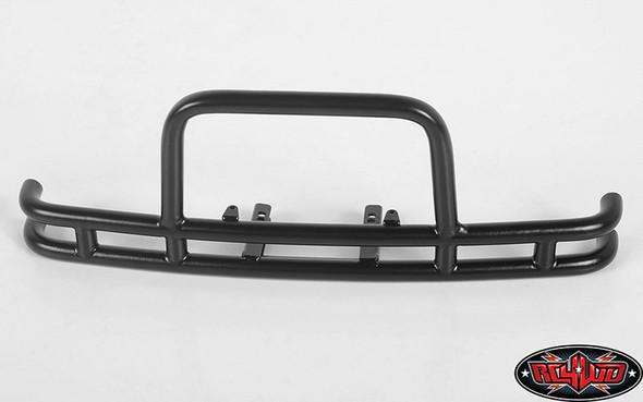 RC4WD VVV-C0622 Rhino Front Bumper Black w/IPF Lights : Traxxas TRX-4
