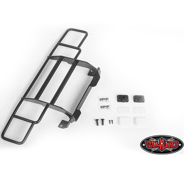 RC4WD VVV-C0787 Ranch Front Grille w/IPF Lights : Traxxas TRX-4 Chevy K5