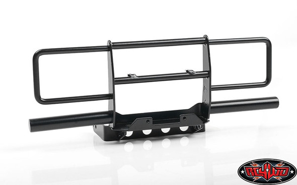 RC4WD VVV-C0948 Oxer Steel Front Winch Bumper Black w/ IPF Lights : VS4-10 Body
