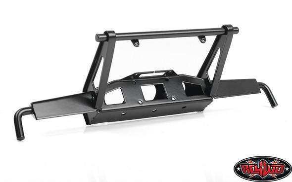 RC4WD VVV-C0954 Shirya Front Bumper Black w/ IPF Lights : Vanquish VS4-10