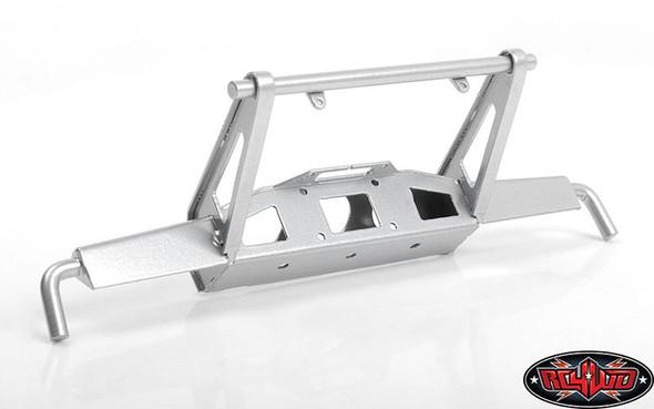 RC4WD VVV-C0955 Shirya Front Bumper Silver w/ IPF Lights : Vanquish VS4-10