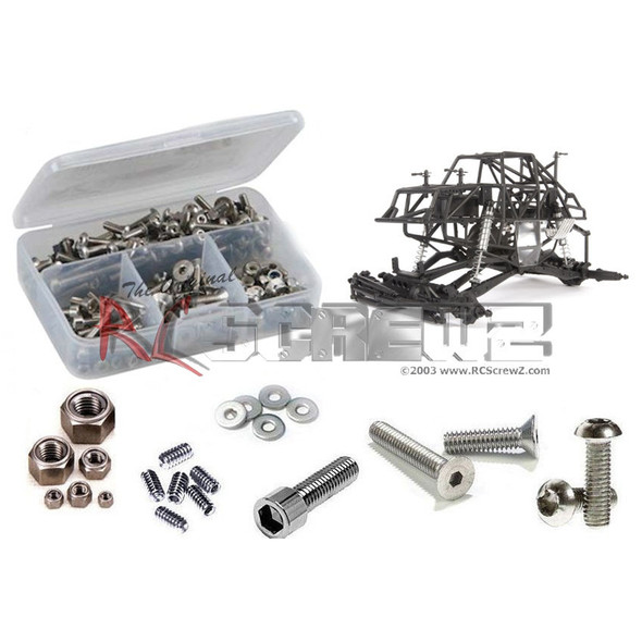 RC Screwz AXI032 Axial SMT10 Raw Builders Stainless Screw Kit