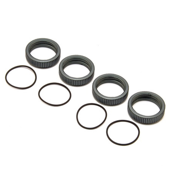 HoBao 89148 CNC Alum. Adjustable Ring for 20mm Outer Diameter Shock Body (4Pcs)  : Hyper MT Plus II