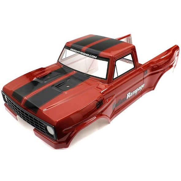Kyosho OLB003 Decoration Body Set Red : Outlaw Rampage PRO / T2