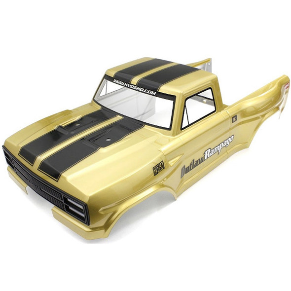 Kyosho OLB004 Decoration Body Set Gold : Outlaw Rampage PRO / T2