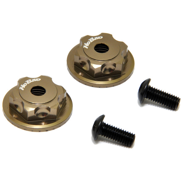 HoBao OP-0092 Double Lock Wheel Flange Hub Bronze (2) : MT Plus / MT Plus II