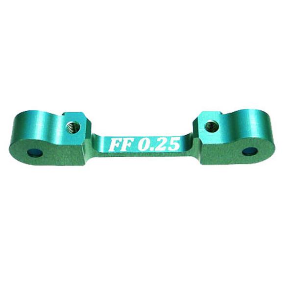 HoBao OP1-0048 CNC Suspension Arm Holder FF 0.25° : Hyper H4 Electric