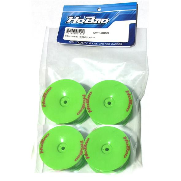 HoBao OP1-0056 Dish Wheel Green (4Pcs) : Hyper H4 Electric