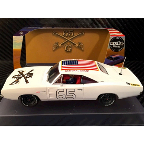 Pioneer P097-DS White General Grant Dealer Special Slot Car 1/32 Scalextric DPR