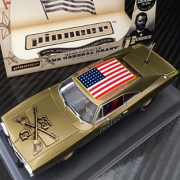 Pioneer P098-DS Gold General Grant Dealer Special Slot Car 1/32 Scalextric DPR