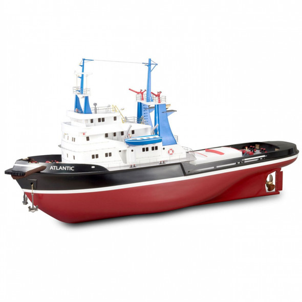 Artesania Latina 20210 1/50 Tugboat ATLANTIC w/ ABS Hull 103cm Model Kit