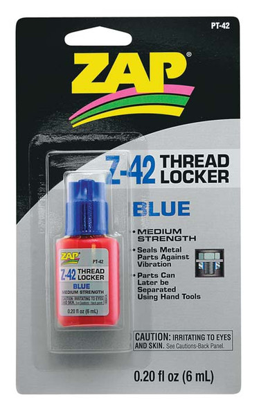 Pacer Zap Adhesives Thread Locker .20 oz PT42