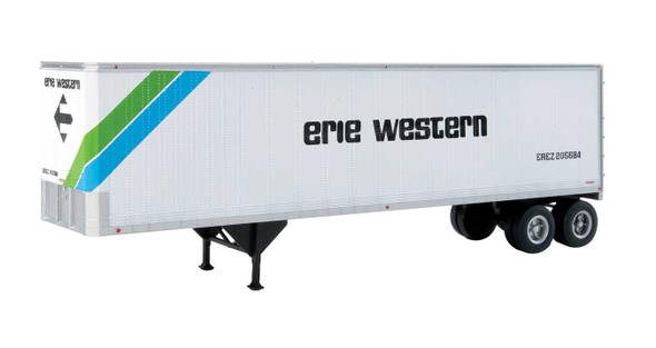 Walthers 949-2511 40' Trailmobile Trailer Erie Western 2-Pack HO Scale