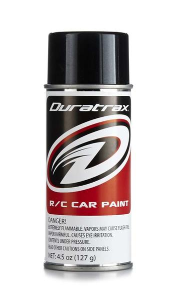 Duratrax PC280 Polycarbonate Spray Paint Metallic Black 4.5 oz RC Trucks/Cars Bodies