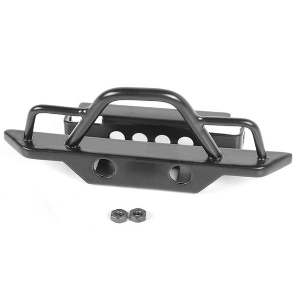 RC4WD VVV-C0545 Steel Front Bumper : 1/18 Gelande II RTR W/BlackJack Body Black