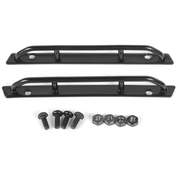 RC4WD VVV-C0552 Steel Side Sliders for 1/18 BlackJack Body Black