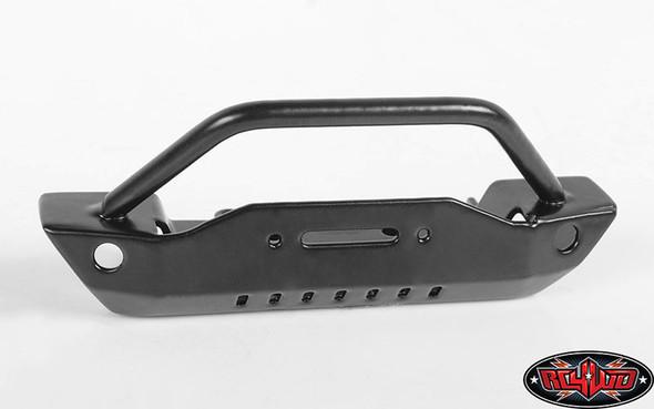 RC4WD VVV-C0582 Steel Stinger Front Bumper W/Plastic Winch : 1/18 Gelande II RTR