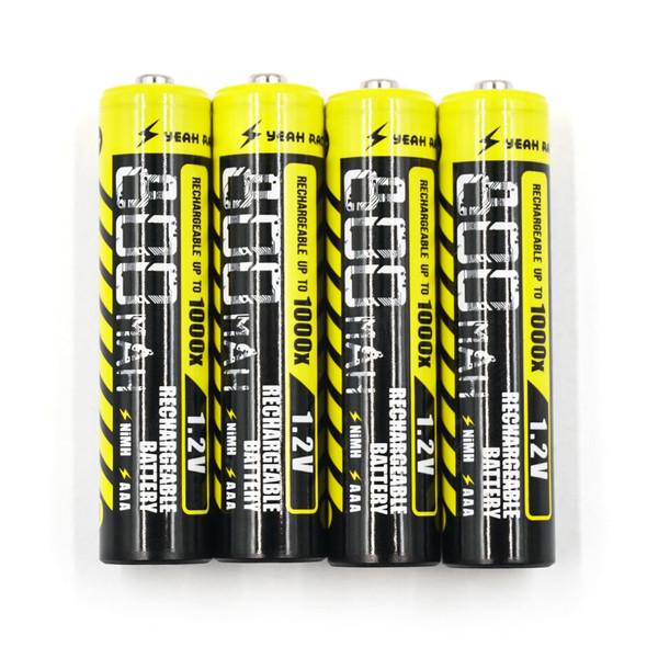 Yeah Racing YE-0032 Rechargeable High Power 800mAh AAA NiMH Battery (4Pcs) : Mini-z