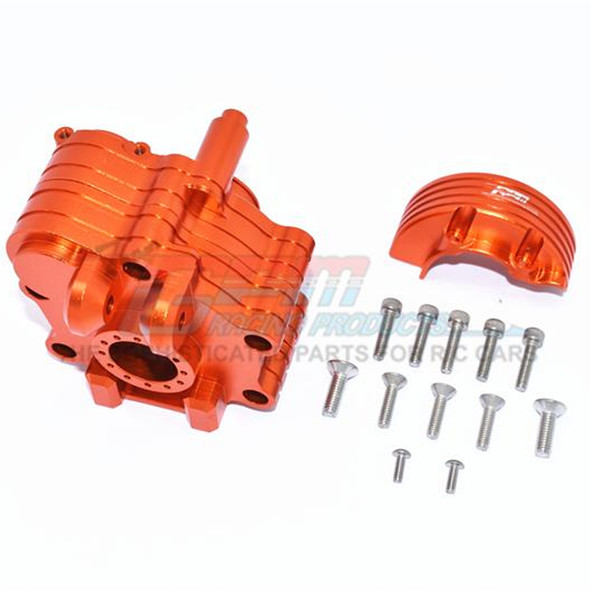 GPM Racing Aluminum Center Gearbox Orange : 1/5 KRATON 8S BLX / OUTCAST  8S BLX