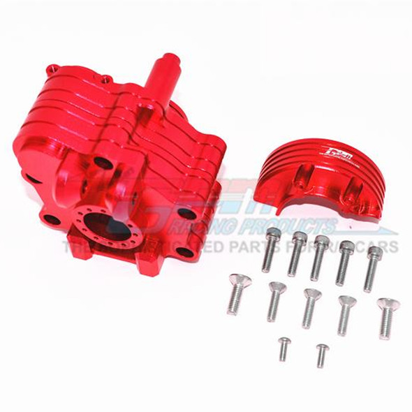GPM Racing Aluminum Center Gearbox Red : 1/5 KRATON 8S BLX / OUTCAST  8S BLX